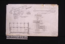 """Detail of end joint, details of tie beam of truss, sect'n C-C, detail at """"A"""" on sect'n """"A-A"""" (sheet no. 3) :Sheet no. 4."""