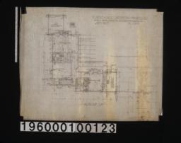 Second floor plan :Sheet no. 3\,