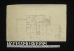 "Cottage ""d"" -- first floor plan."