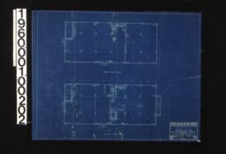 Third floor plan\, second floor plan :Sheet 2 / (2)