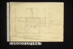 Plan showing extra first floor joists