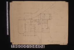 Plan of first floor.