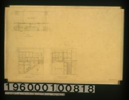 Staircase in plan\, section A-A\, section B-B : 2.