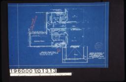 Second floor plan :Sheet no. 2.