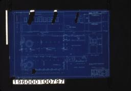 Delivery room -- cast elevation\, section\, first floor plan\, north elevation\, second floor plan :Sheet No. 1\,