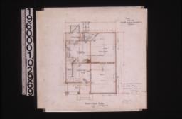 Plan of first floor :1\,