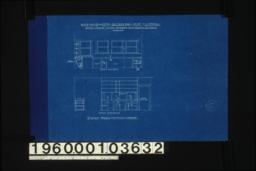 Details of kitchen interior -- north elevation\, west elevation : Sheet no. 8. (2)