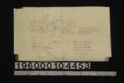 Cement stairs to cellar -- plan\, section :Sheet no. 20.
