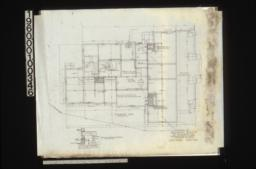Foundation plan\, section of walls and girders :Sheet no. 2.