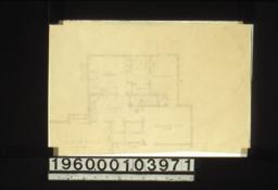 Partial first floor plan
