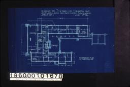 Foundation plan :Sheet no. 1\,