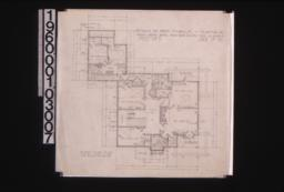 Second floor plan; Sheet no. 3.