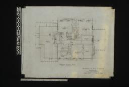 Second floor plan : Sheet no. 3. (3)