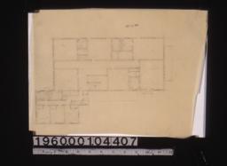 Second floor plan\,