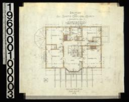 Second floor plan : No. 3.