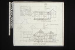Section thro' pantry looking southwest\, southwest elevation :Sheet no. 5\, (3)