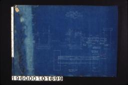 Details for concrete floor section -- foundation plan\, ground floor plan\, section A-A\, section B-B. (2)