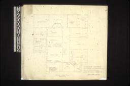 Second floor plan : Sheet no. 1. (4)