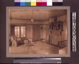 """Aunt Julia"" Huggins's bedroom."