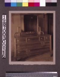 Master bedroom dresser.