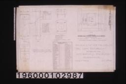 3 in. scale and F.S. details of electric light fixtures -- F.S. details of wall fixture for rooms on 1st and 2nd; F.S. details of small light block; 3 in. scale details of large light block : Sheet no. 24,