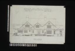 Front elevation :Sheet no. 3\,