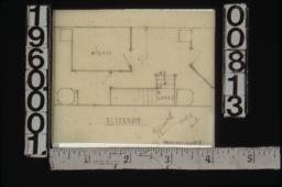 Alternate plan of staircase area\,