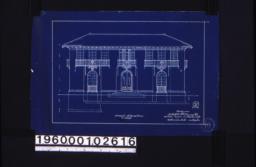 Original front elevation :Sheet 5 /