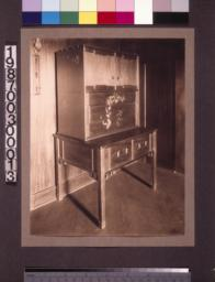 Living room music cabinet.