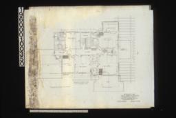 Second floor plan :Sheet no. 4