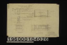 Addition to residence -- plan, east elevation, south elevation ; construction details in sections : Sheet no. 1.