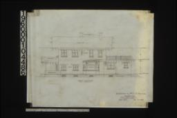 North elevation : Sheet no. 5. (3)