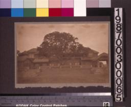 South (rear) elevation of the main residence. (3)