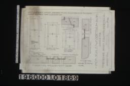 garage -- inch scale and F.S. details of sash :Sheet no. 2\,