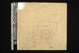 Sketch of floor plan