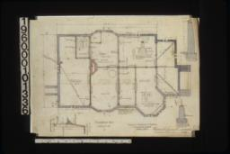 Foundation plan; details of foundation in sections :1.