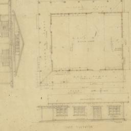 "Plans of the ""dug-out"" for ..."