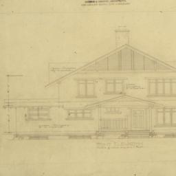 [Design for a California ho...
