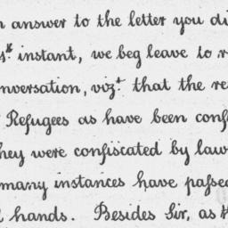 Document, 1782 November 07