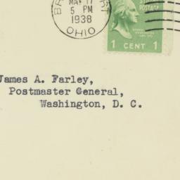Envelope: 1938 May 17