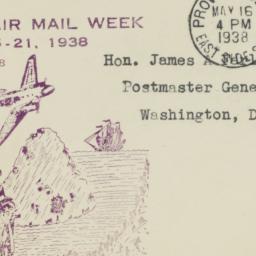 Envelope: 1938 May 16