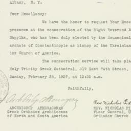 Letter: 1937 February 20