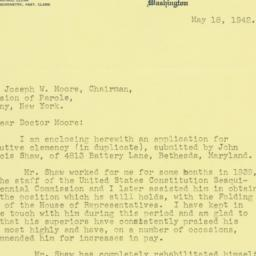 Letter: 1942 May 18