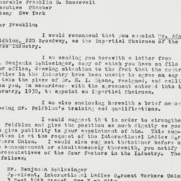 Letter: 1931 July 14