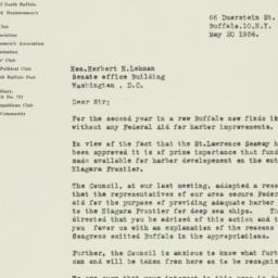 Letter: 1954 May 20