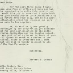 Letter: 1949 January 26