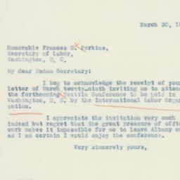 Letter: 1937 March 30