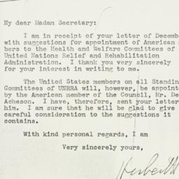 Letter: 1943 December 27