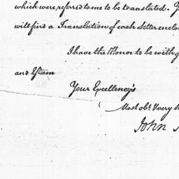 Document, 1785 April 27