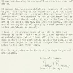 Letter: 1961 December 4